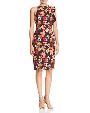 Black Halo Pabla Floral Dress - 100% Exclusive In Magenta Sunset/Black