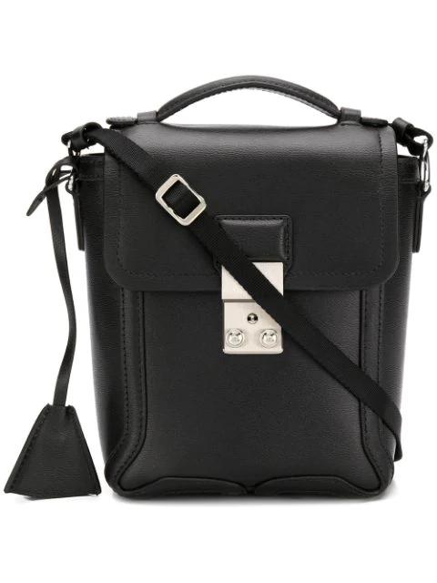 3.1 Phillip Lim Pashli Leather Camera Bag In Black