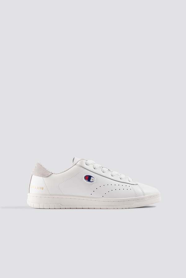 Champion Court Club P Sneaker White
