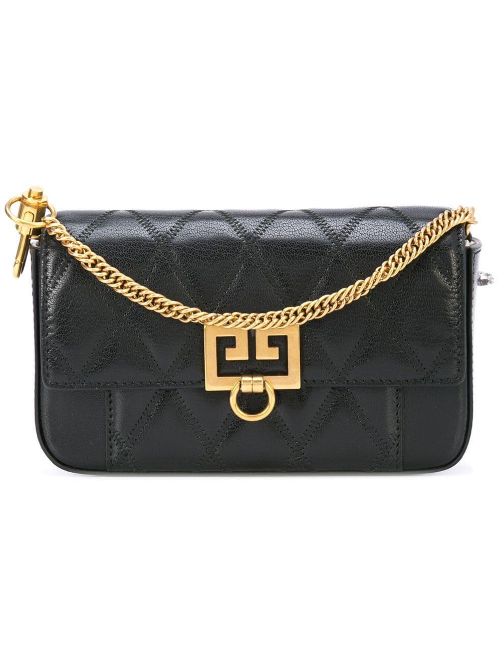 Givenchy Gv3 Shoulder Bag - Black  fd291a80f2a3f