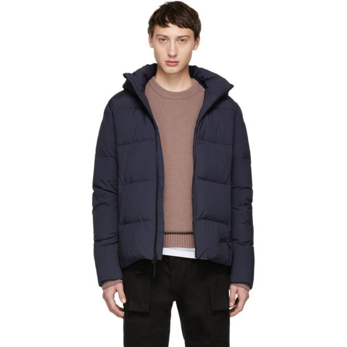 900d5da46 Woolrich John Rich And Bros Navy Down Comfort Jacket in Cna.Clsc.Nv