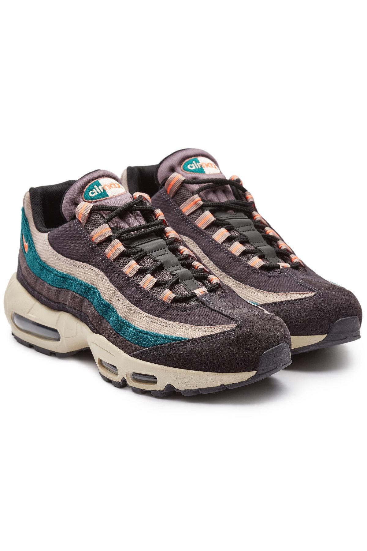 Air Max 95 Premium Suede Sneakers In Multicolored