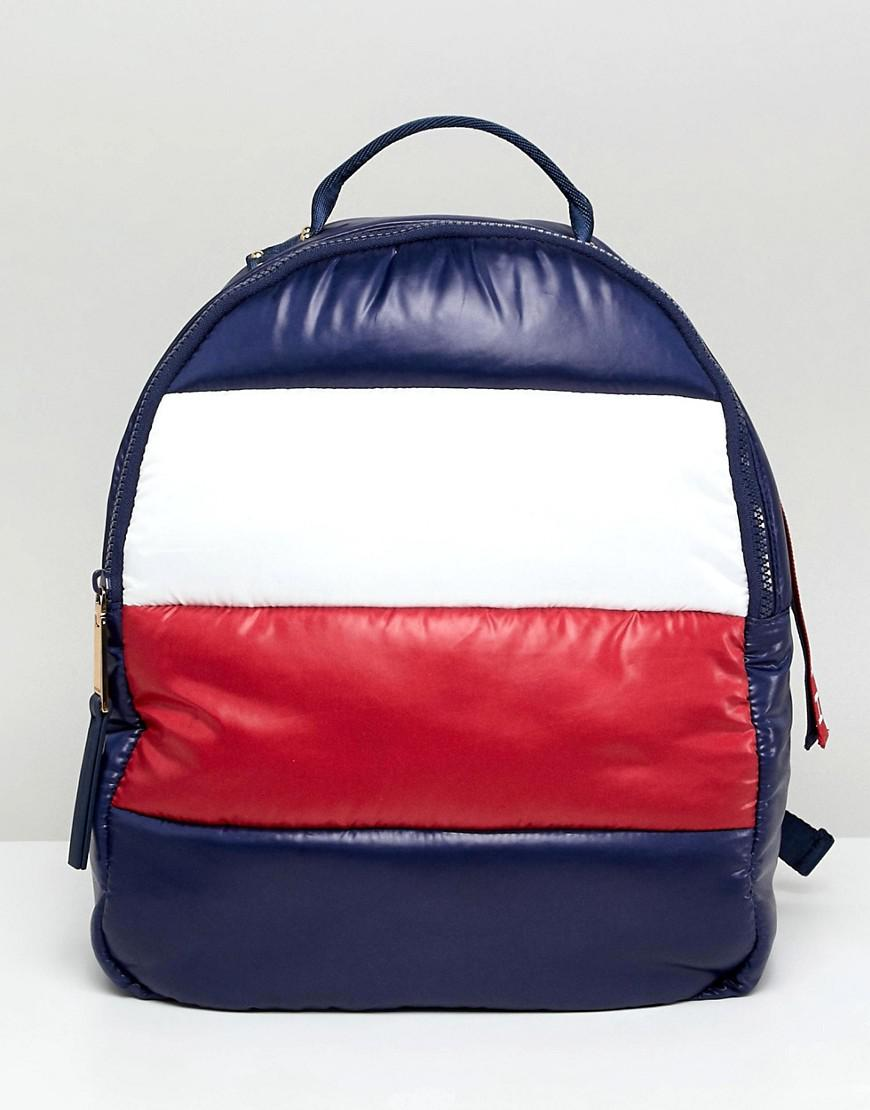 c3a59d05 Tommy Hilfiger Flag Padded Backpack - Navy | ModeSens