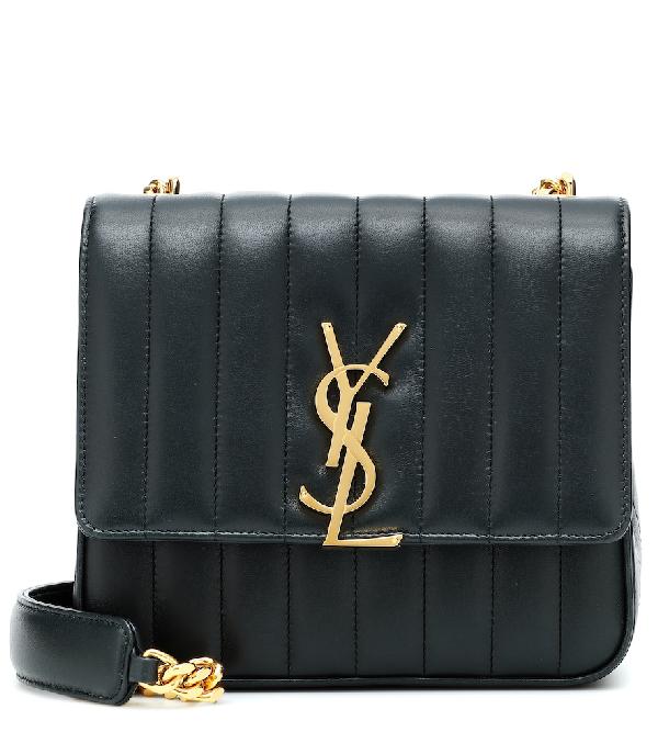 Saint Laurent Medium Vicky MatelassÉ Leather Shoulder Bag