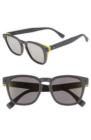 75f3984ffeb Fendi 52Mm Sunglasses - Grey