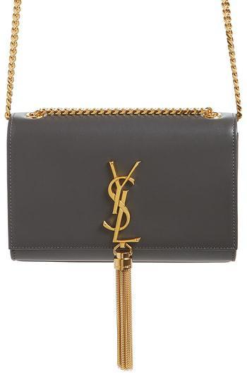 a96b730d4f9 Kate Tassel Calfskin Leather Shoulder Bag