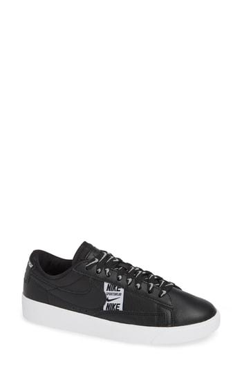 huge selection of e47a0 dfd70 Nike Blazer Low Se Sneaker In Black  Black  White