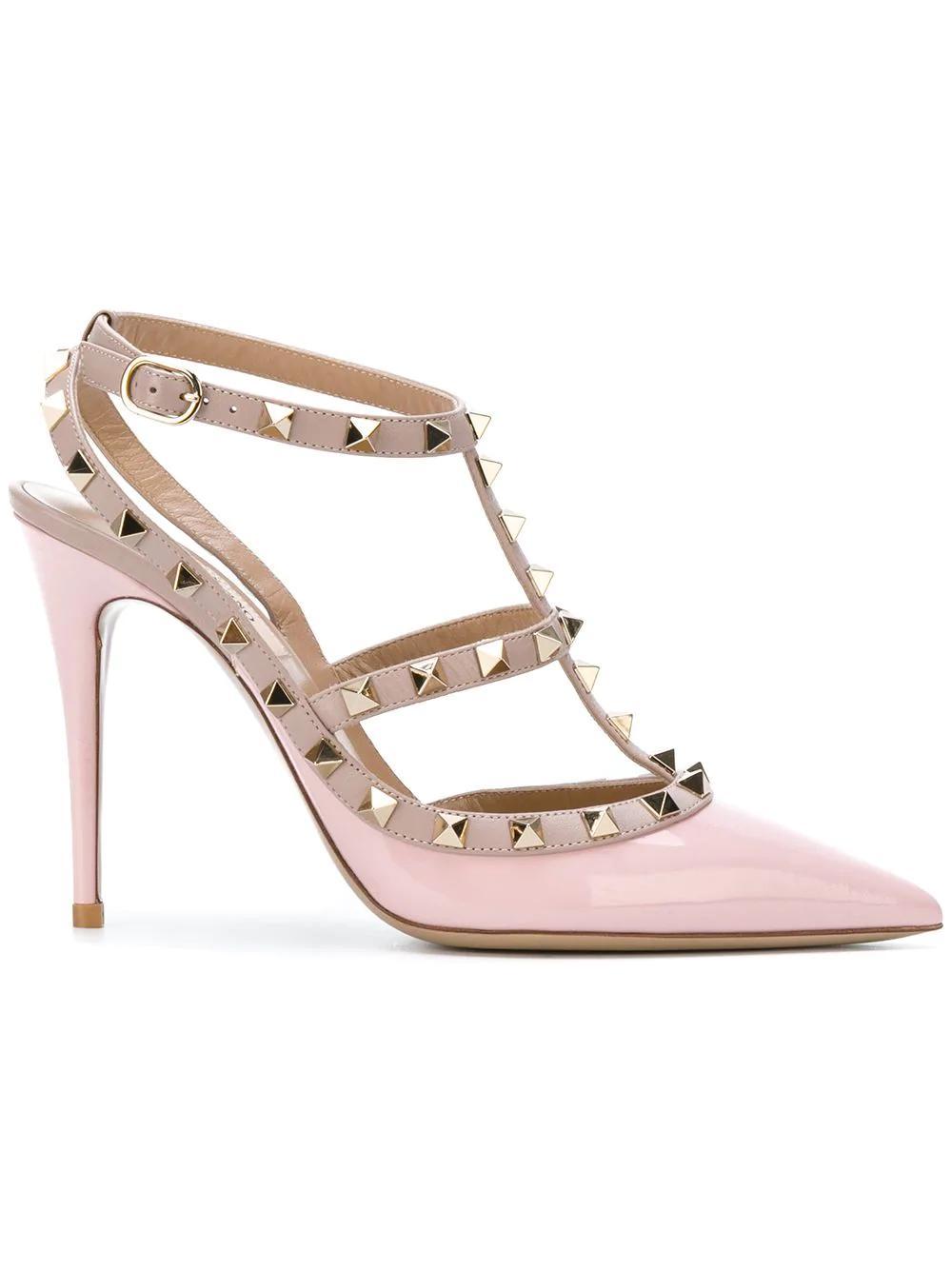 a32a5aaa889 Valentino Garavani Rockstud Pumps - Pink
