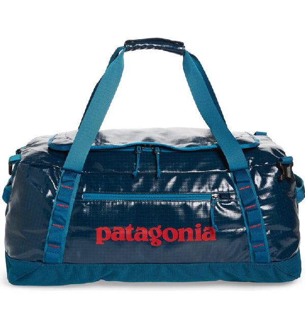 877e6dc35 Patagonia Black Hole Water Repellent 60-Liter Duffle Bag - Blue In Big Sur  Blue