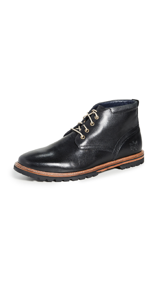 Cole Haan Raymond Grand Water Resistant Chukka Boot In Black Handstain