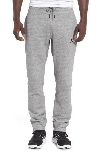 a22f4aea82aa5d Nike Wings Fleece Pants In Carbon Heather  Black