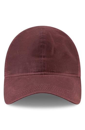 the latest aff1f 4a31e New Era Moleskin 9Twenty Cap - Red In Wine