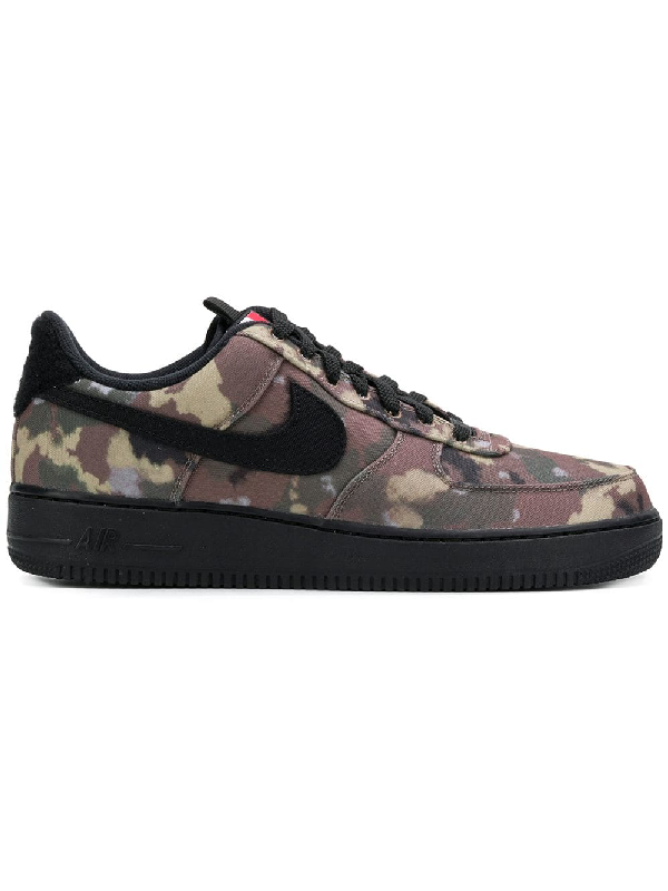 27f44c1494d03 Nike Air Force 1 '07 Camo Sneakers In 200 Ale Brown/ Black-Cargo ...