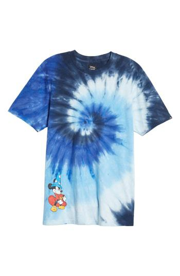 7fb7708785 Vans X Disney Mickey s 90Th Anniversary T-Shirt In Mickey Fantasia Tie Dye