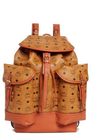 670246177cd6c Mcm Medium Vintage 2 Pocket Backpack - Brown In Cognac. Nordstrom