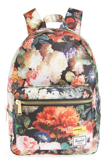 aa60521b0ee Herschel Supply Co. X Hoffman Extra Small Grove Backpack - Orange In Fall  Floral