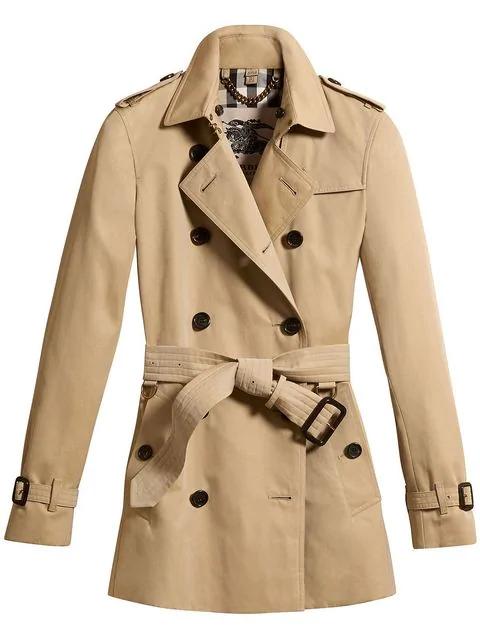 9da5799ead Burberry The Sandringham - Short Trench Coat In Neutrals | ModeSens