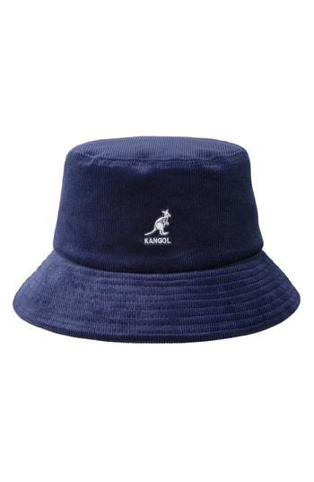 09b0566f Kangol Corduroy Bucket Hat - Blue In Navy | ModeSens
