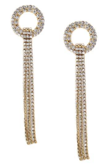 12e7d8991 Ettika Crystal Ring & Fringe Drop Earrings In Gold   ModeSens