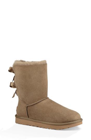 Ugg 'Bailey Bow Ii' Boot In Antelope