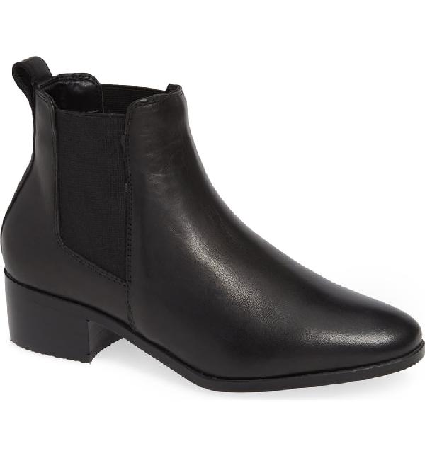 35ec04b0bf7 Dover Chelsea Bootie in Black Leather