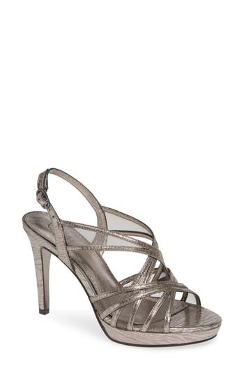 2bc9a9b57bb ... add intricacy to this elegant platform sandal with a slim heel and  dance-all-night cushioning. Style Name  Adrianna Papell Adri Platform Sandal  (Women).