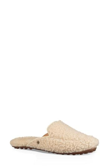 ffac05de62f Ugg Lane Fluff Genuine Shearling Loafer Slipper in Natural
