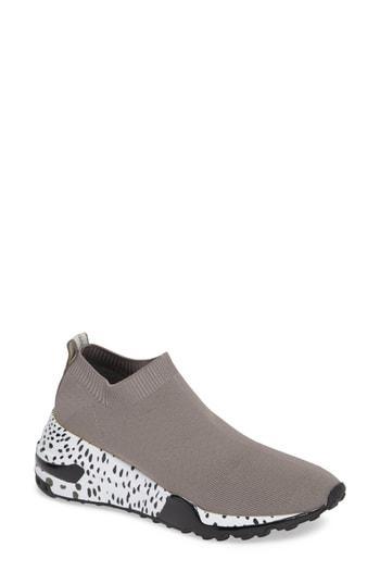 eb5155d27c0 Steve Madden Cloud Sock Wedge Sneaker In Grey