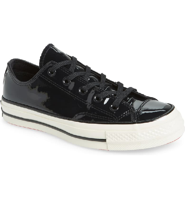 Converse Chuck Taylor All Star 70 Patent Low Top Sneaker In Black