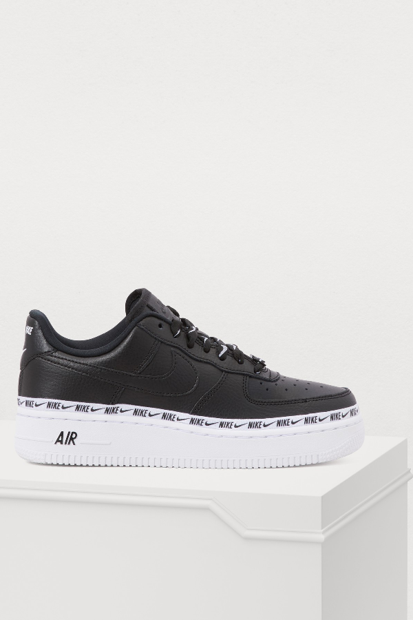 new concept 242cb e5798 Nike Air Force 1  07 Se Premium Sneaker In Black
