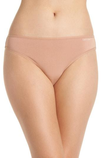 369a9a80c8 Calvin Klein Form Cotton Thong In Beetle