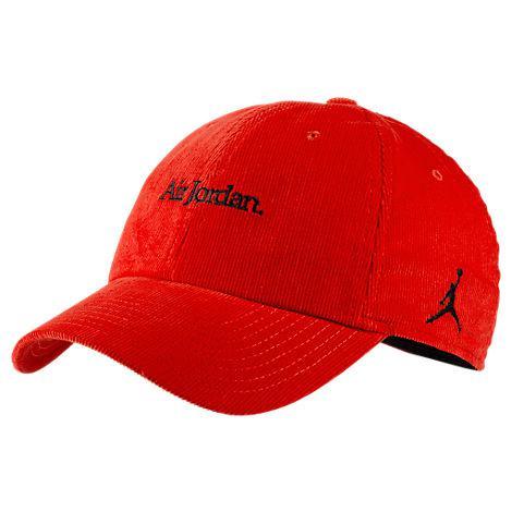 bafc97707e56d4 Nike Jordan Heritage86 Corduroy Strapback Hat