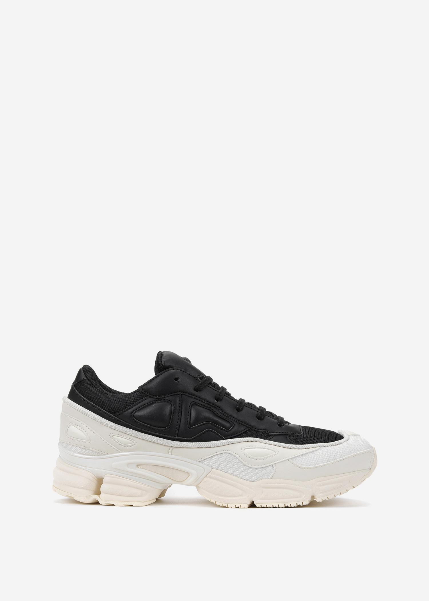 best sneakers bf2bf 883a7 Raf Simons Adidas By Ozweego In Cream White Core Black Core Black