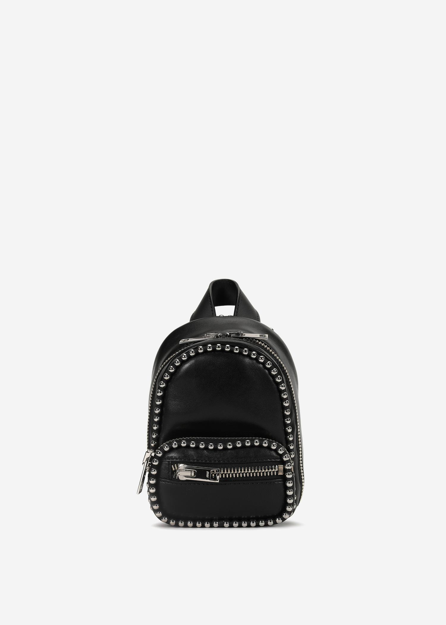 d5626e2d6a09f Alexander Wang Attica Soft Mini Backpack Crossbody In Black