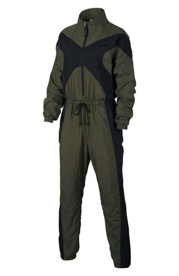 cd32a26ceaa Nike Jumpsuit In Cargo Khaki  Black