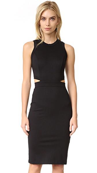 Amanda Uprichard Shaina Dress In Black