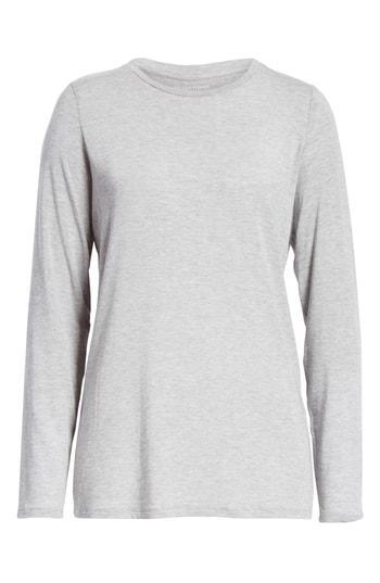 a8ea9ac5 Eileen Fisher Tencel Lyocell Blend Top In Dark Pearl | ModeSens