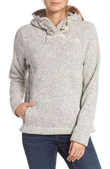 434892f6c CRESCENT HOODED PULLOVER