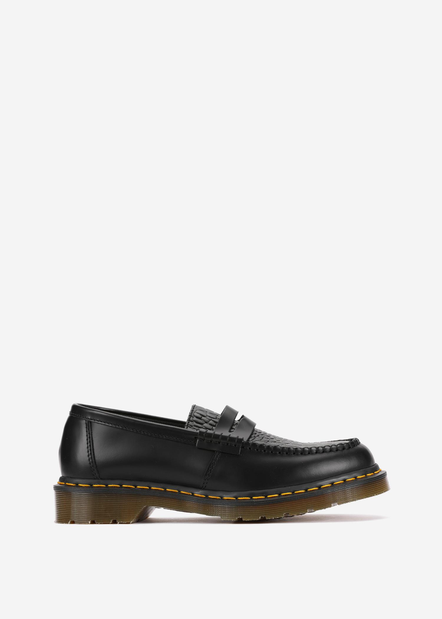 67a9568343f Dr. Martens X Stussy Penton Loafer In Black