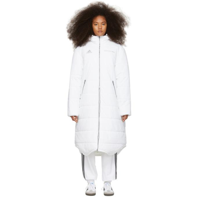 fc4352f93 Gosha Rubchinskiy White Adidas Originals Edition Long Puffer Jacket in 2  White