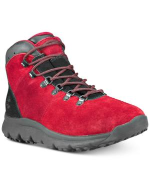Men's World Hiker Leather Boots Men's Shoes in Chilli Pepper