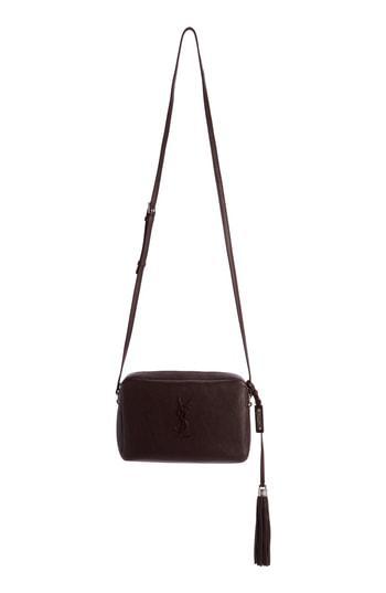 a1590f98314 Saint Laurent Small Mono Leather Camera Bag In Nero | ModeSens