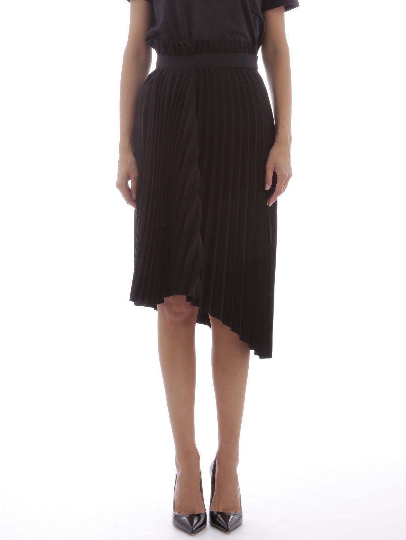 a4786d1605d5 Balenciaga Skirt In Black Pleated