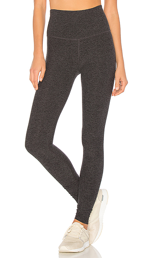 e4fc4c081881e Beyond Yoga Spacedye Essential Long Legging In Black & Steel | ModeSens