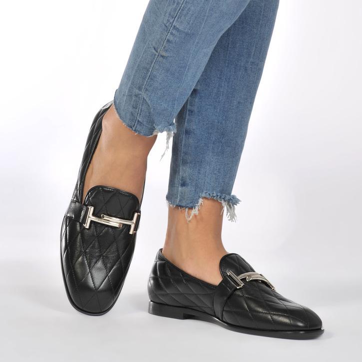 new arrivals best wholesaler footwear Tod's Quilted Logo Loafer | ModeSens