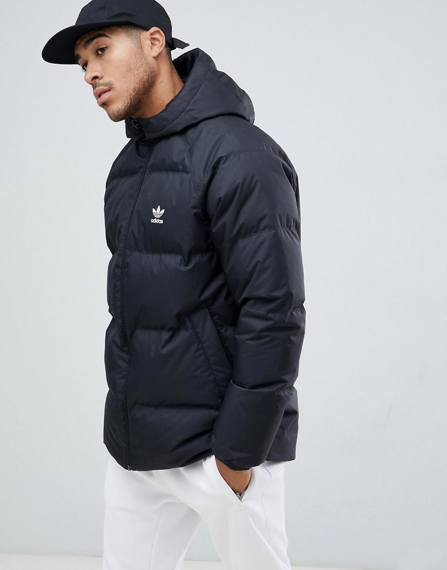 Shoptagr | Adidas Originals Reversible Hooded Down Puffer