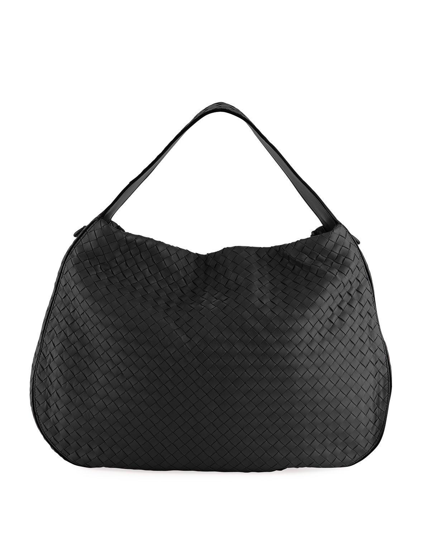 e2c4d781c4 Bottega Veneta Large City Veneta Hobo Bag In Black