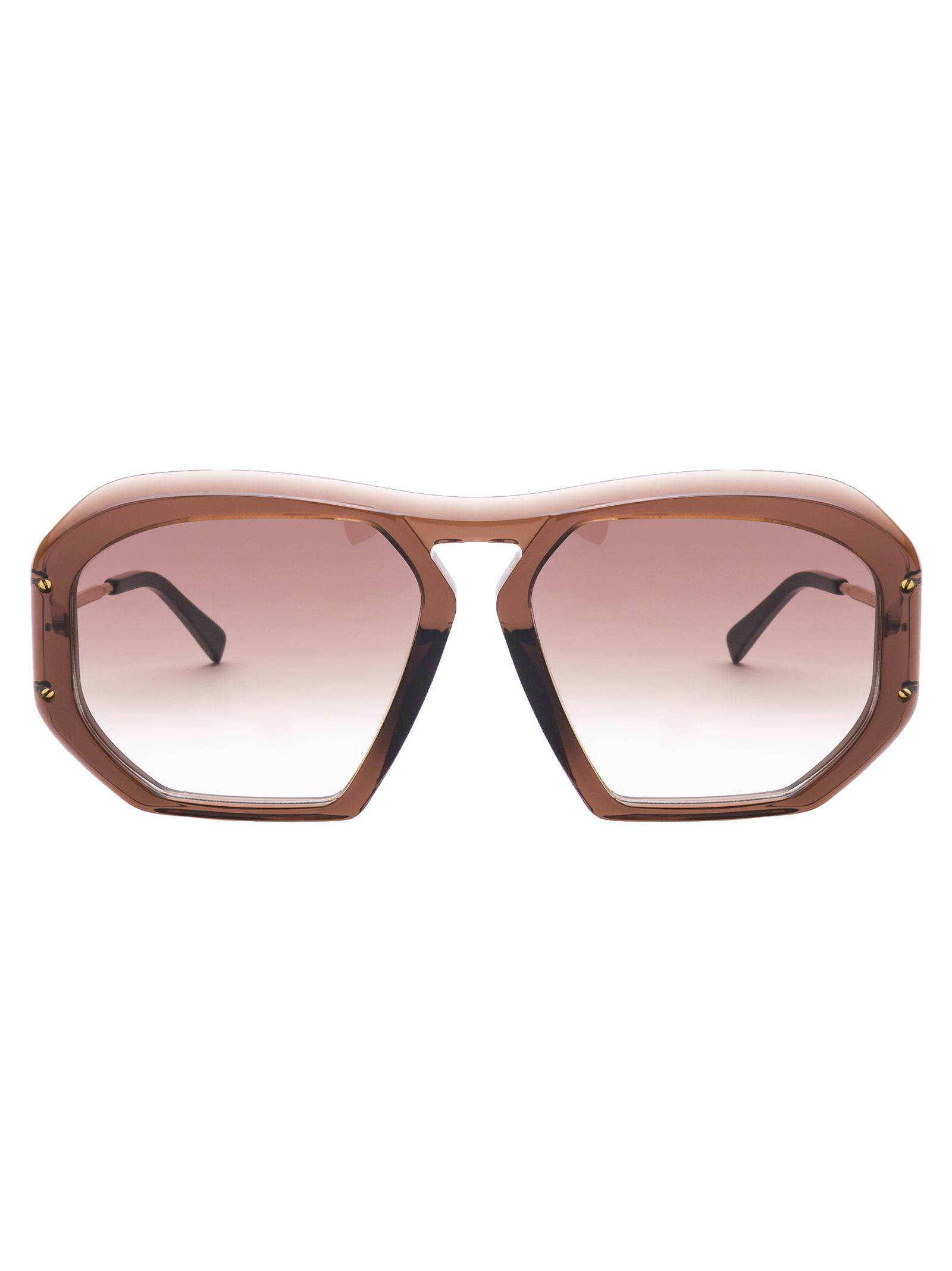 6c36c42cb6504 Celine CÉLine Eyewear Geometric Shaped Sunglasses In 48F