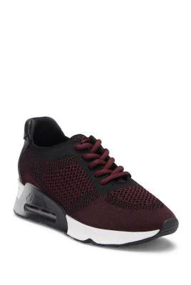 Ash Lucky Lace-up Sneakers In Black Barolo