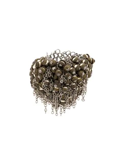 Marc Le Bihan Chain Embellished Ring - Metallic
